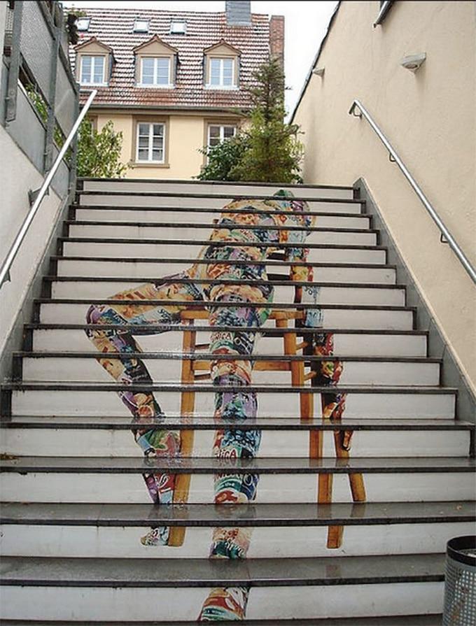 20 escadarias que são incrivelmente artísticas 6