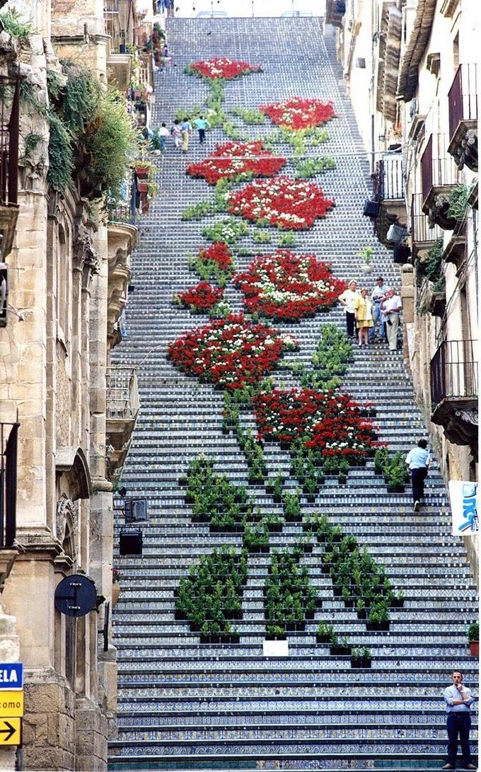 20 escadarias que são incrivelmente artísticas 8