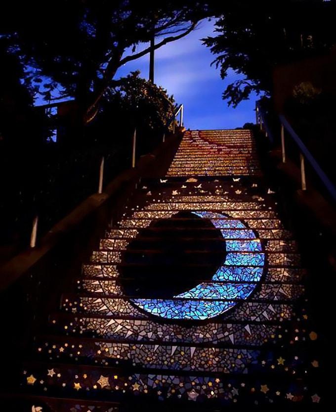 20 escadarias que são incrivelmente artísticas 10