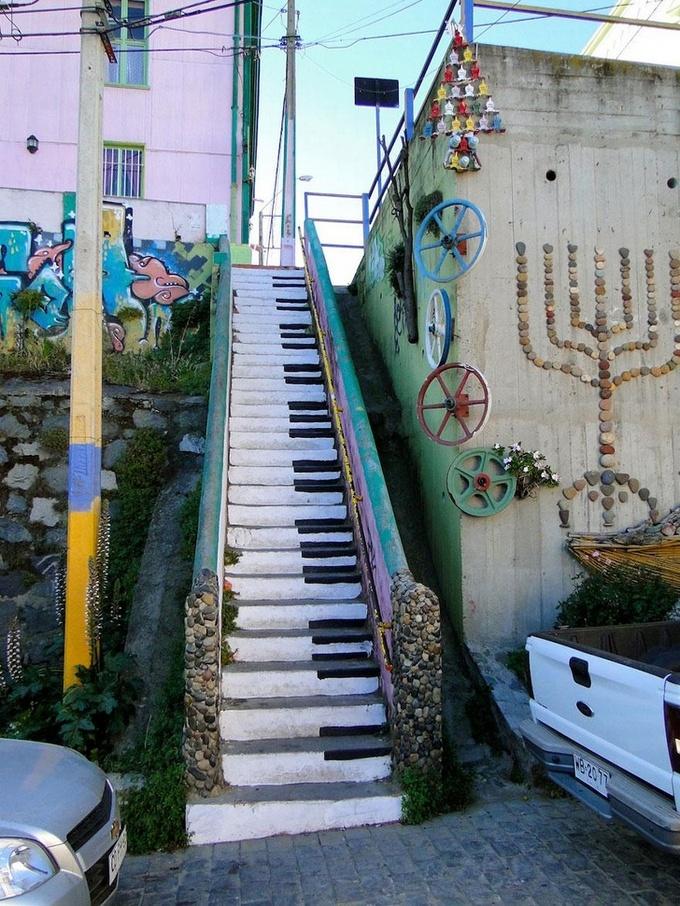 20 escadarias que são incrivelmente artísticas 12