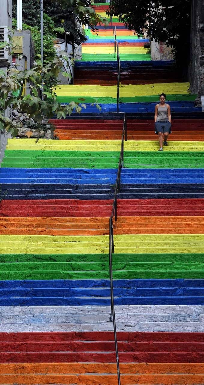 20 escadarias que são incrivelmente artísticas 15