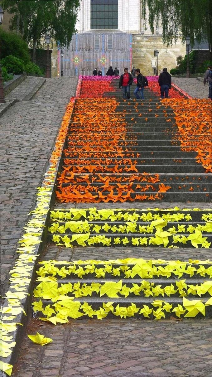 20 escadarias que são incrivelmente artísticas 16