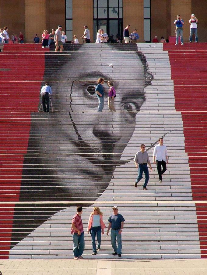 20 escadarias que são incrivelmente artísticas 17