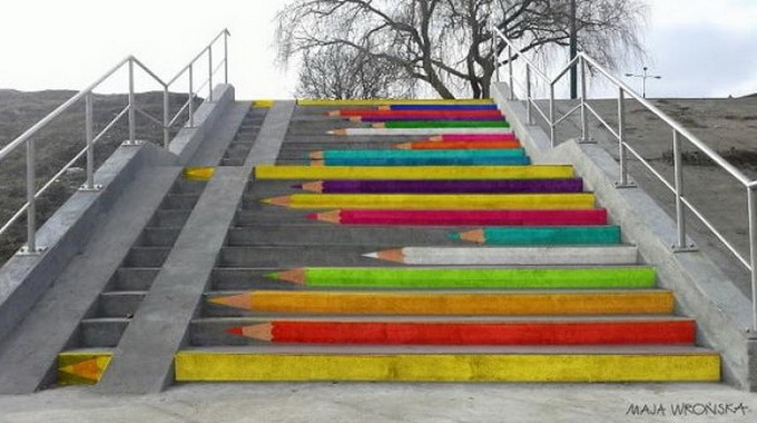 20 escadarias que são incrivelmente artísticas 18