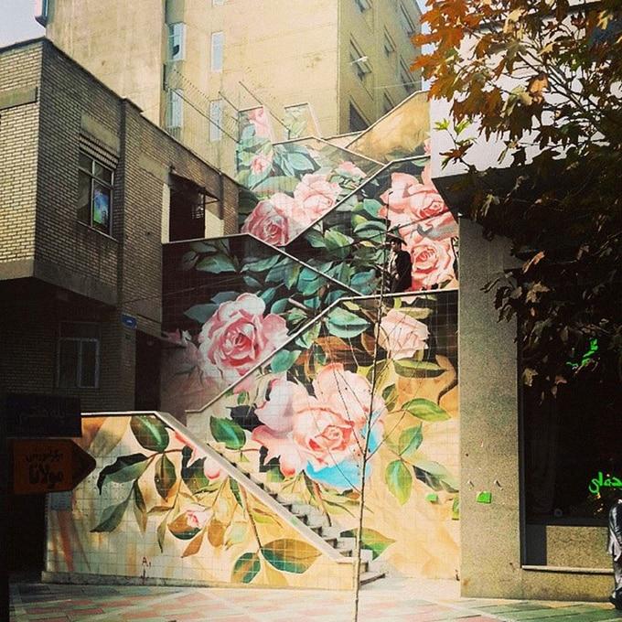 20 escadarias que são incrivelmente artísticas 19