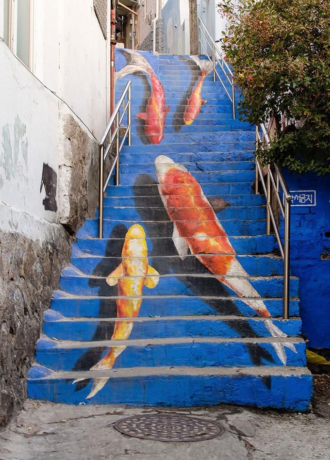 20 escadarias que são incrivelmente artísticas 21