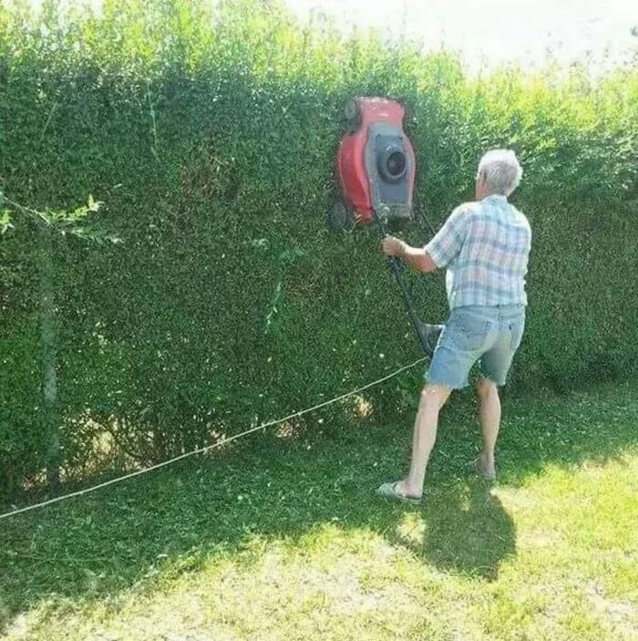 Como acelerar o seu trabalho de jardinagem se a sua série favorita começar em meia hora