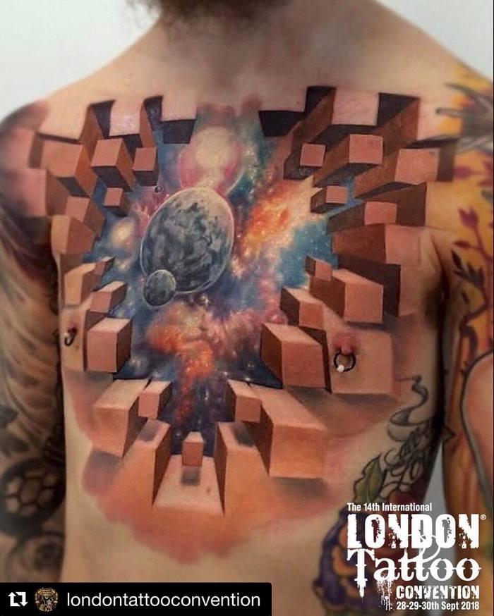 Tatuagens 3D abrem a porta para um mundo mágico 4
