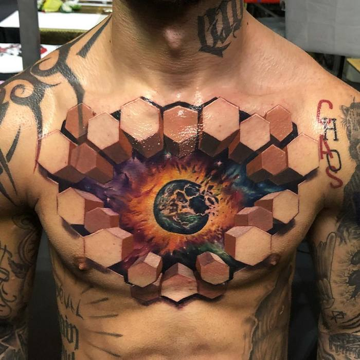 Tatuagens 3D abrem a porta para um mundo mágico 13