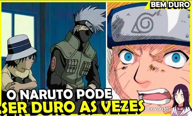 7 vezes que o Naruto foi um pouco duro 3