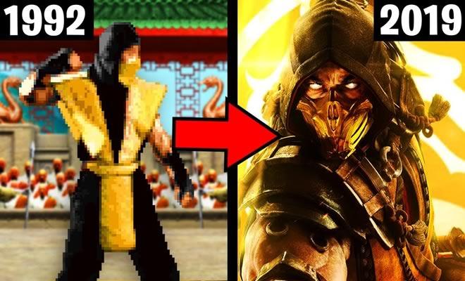 A incrível evolução de Mortal Kombat 6