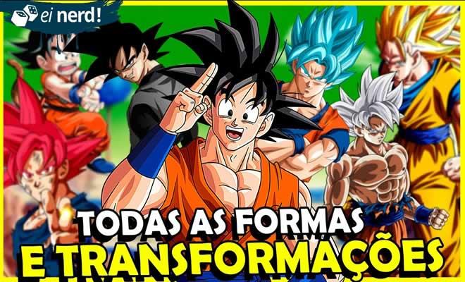 Todas as formas do Goku até hoje 2