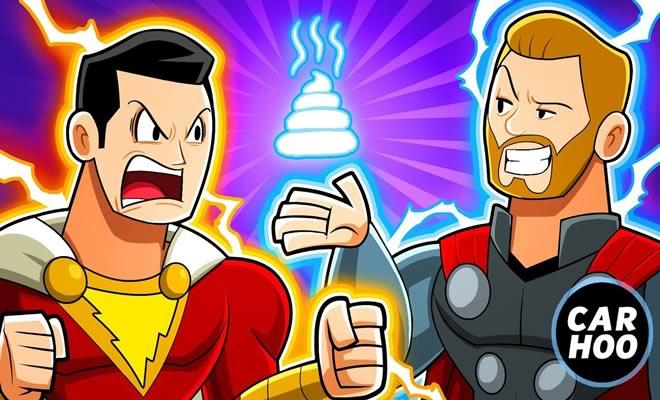 Shazam vs Thor 3