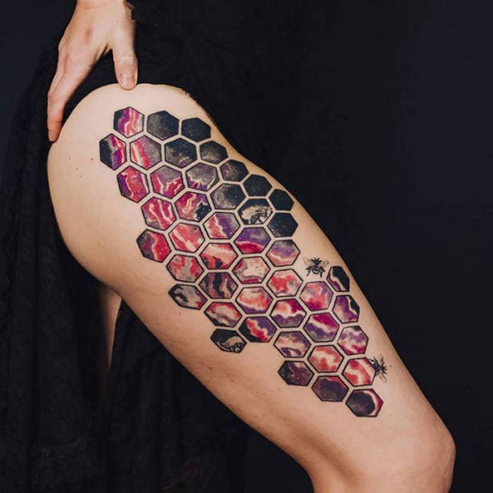 Algumas das mais incríveis tatuagens de pernas (43 fotos) 9