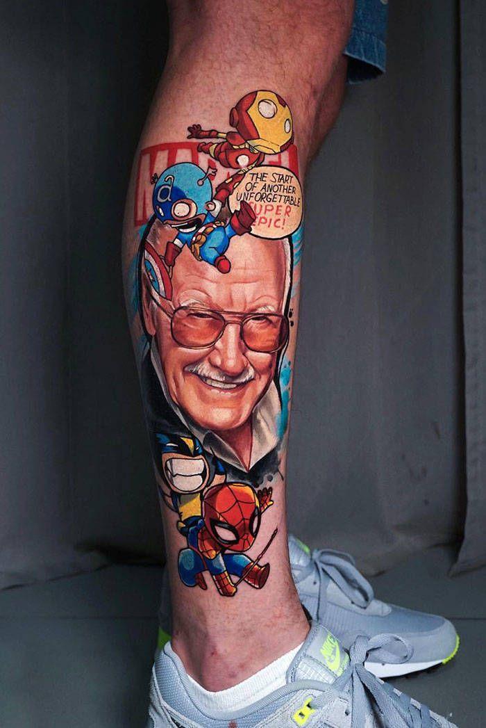 Algumas das mais incríveis tatuagens de pernas (43 fotos) 26