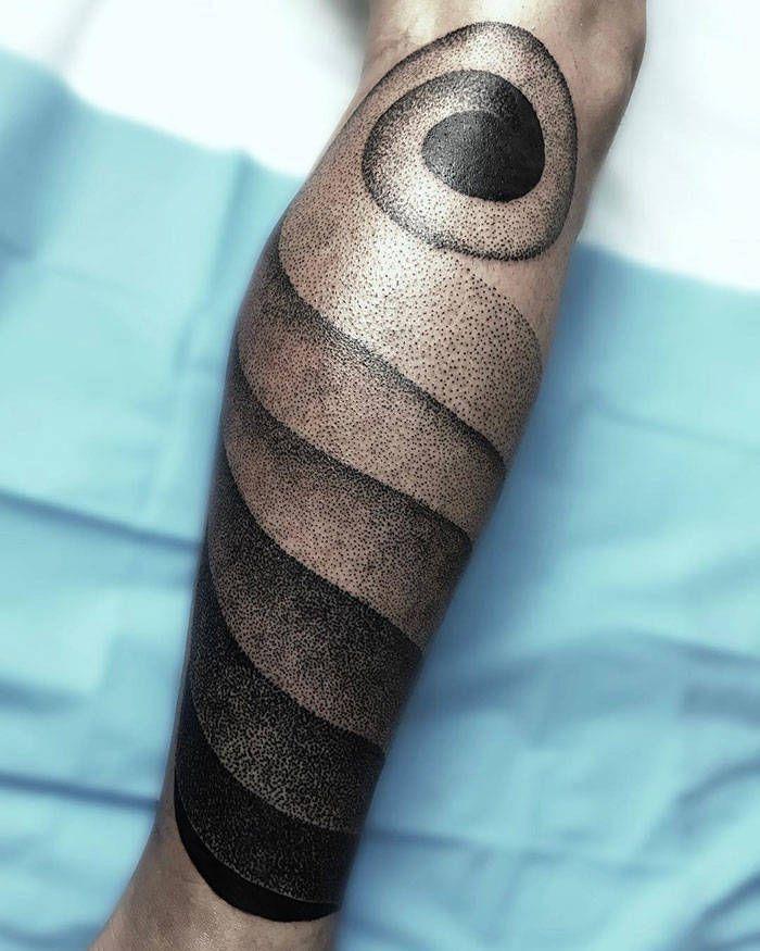 Algumas das mais incríveis tatuagens de pernas (43 fotos) 38