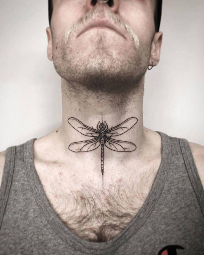 45 idéias inspiradoras de tatuagem para o pescoço e nuca 42