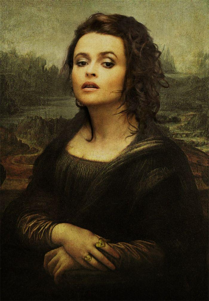 Pinturas clássicas recriadas com celebridades modernas 10