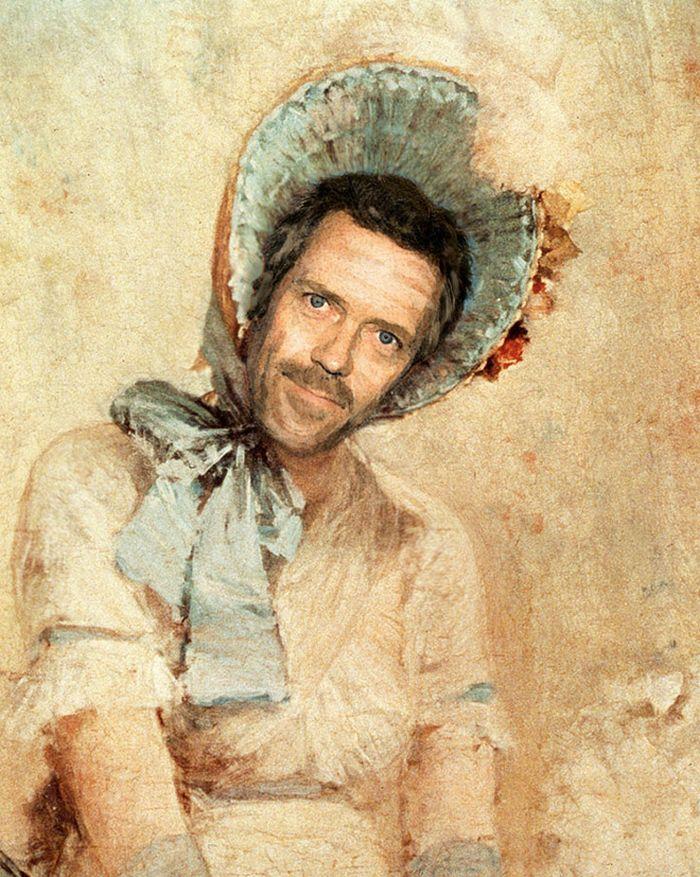 Pinturas clássicas recriadas com celebridades modernas 13