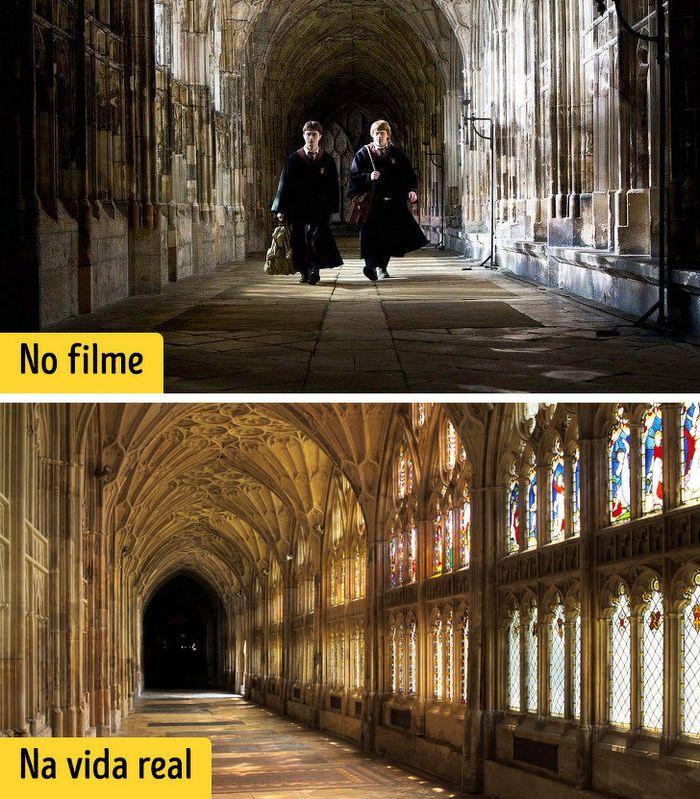 16 cenários reais que inspiraram os criadores dos filmes de Harry Potter 6