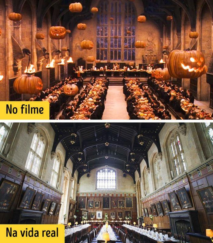 16 cenários reais que inspiraram os criadores dos filmes de Harry Potter 7