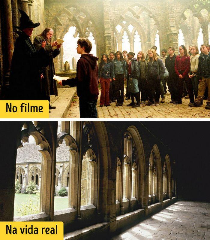 16 cenários reais que inspiraram os criadores dos filmes de Harry Potter 12
