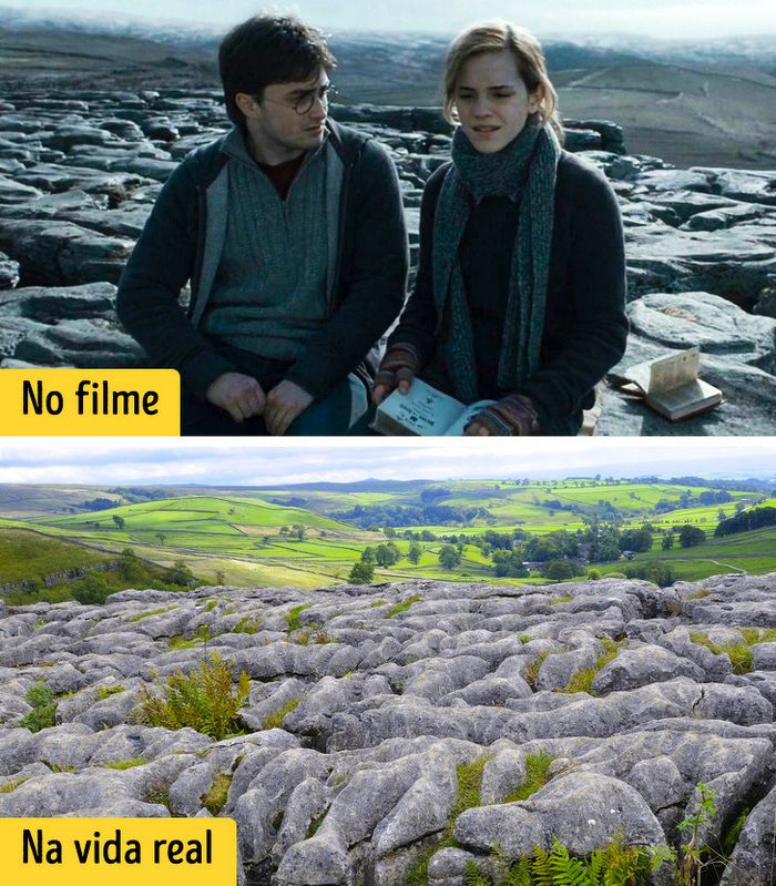16 cenários reais que inspiraram os criadores dos filmes de Harry Potter 15