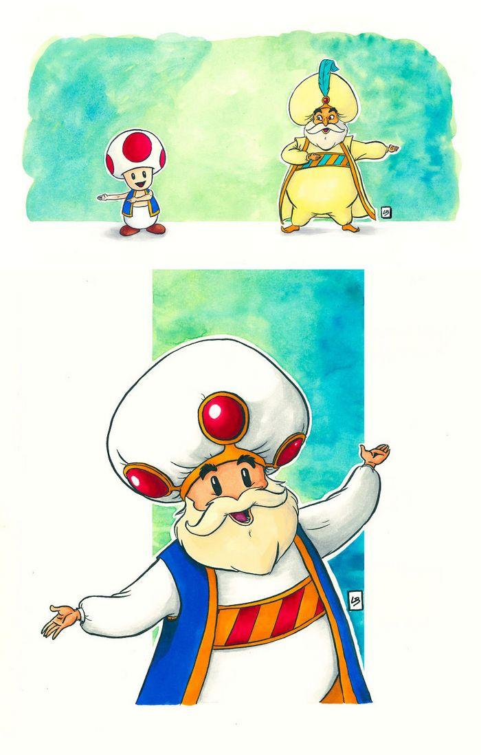 26 personagens de desenhos animados fazendo fusão 22