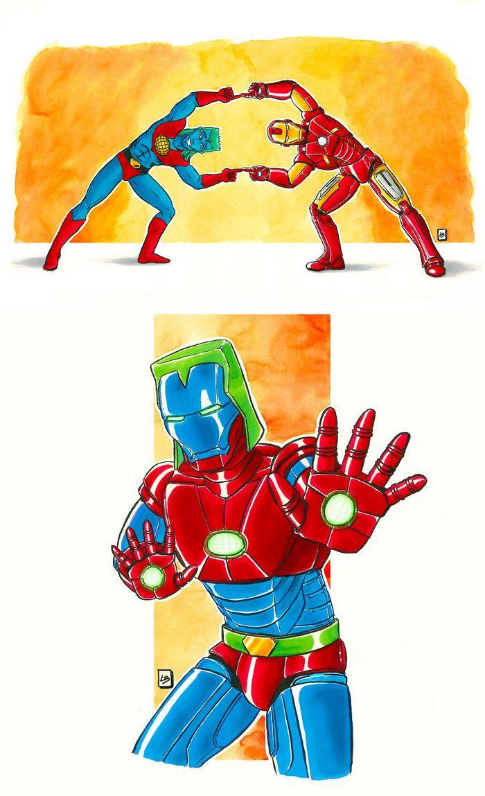26 personagens de desenhos animados fazendo fusão 33