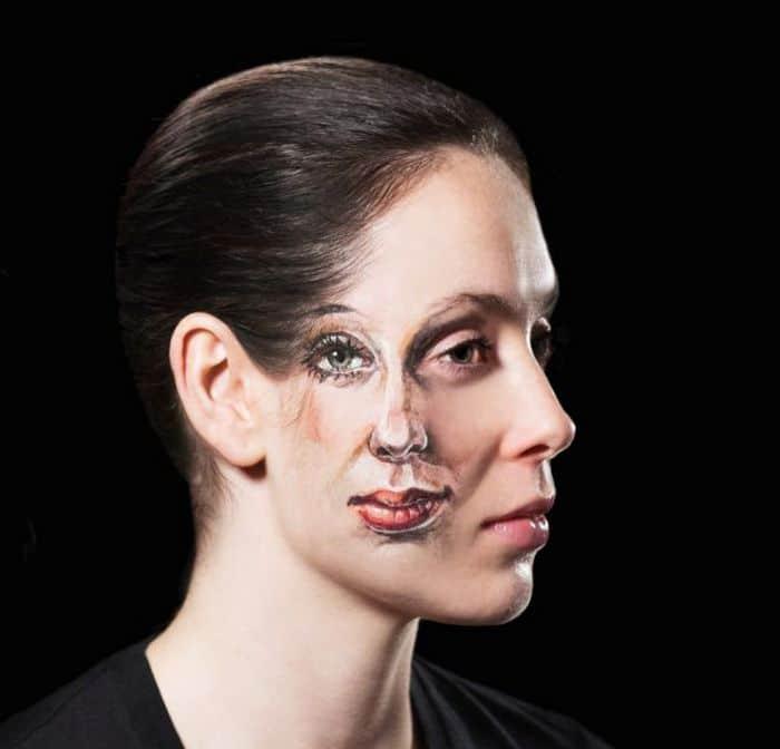 21 idéias assustadoras de maquiagem bem a tempo para o Halloween 3
