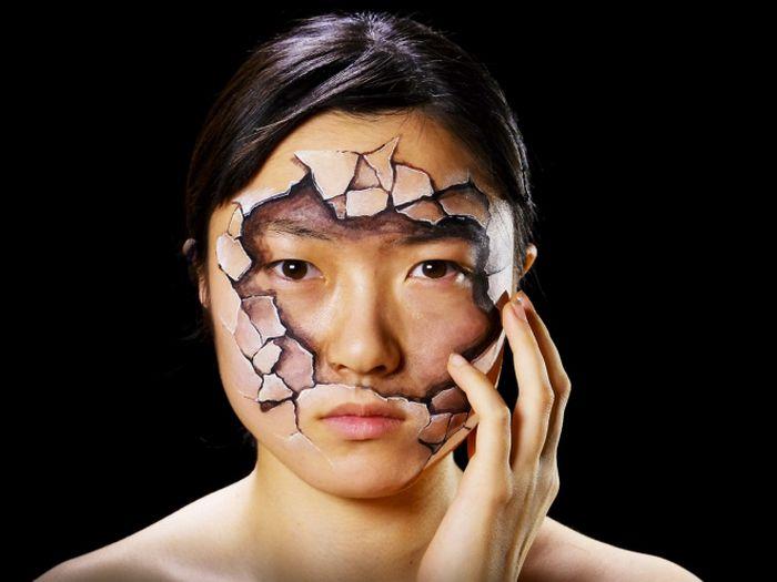 21 idéias assustadoras de maquiagem bem a tempo para o Halloween 5