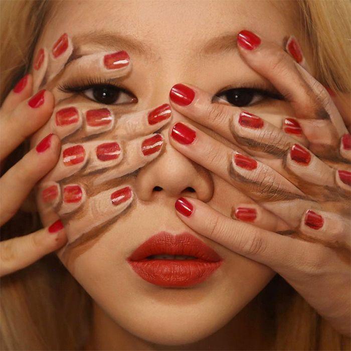 21 idéias assustadoras de maquiagem bem a tempo para o Halloween 8