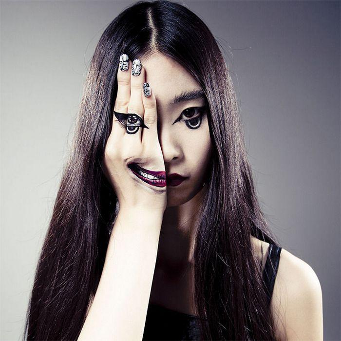 21 idéias assustadoras de maquiagem bem a tempo para o Halloween 10