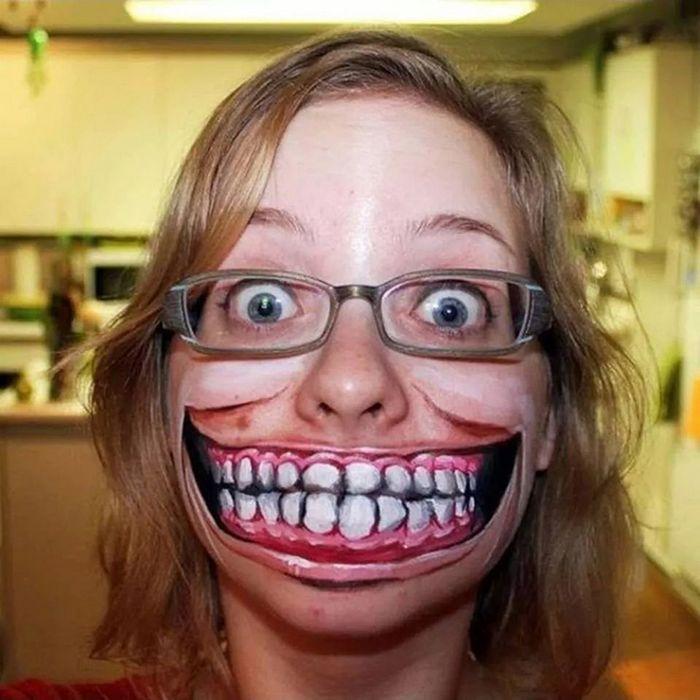 21 idéias assustadoras de maquiagem bem a tempo para o Halloween 11