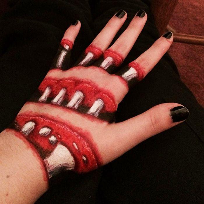 21 idéias assustadoras de maquiagem bem a tempo para o Halloween 13