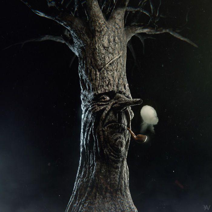 Artista reimagina personagens de desenhos e vários objetos como personagens de terror (17 fotos) 14