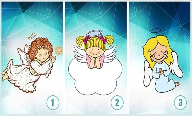 Escolha um anjo e veja uma mensagem