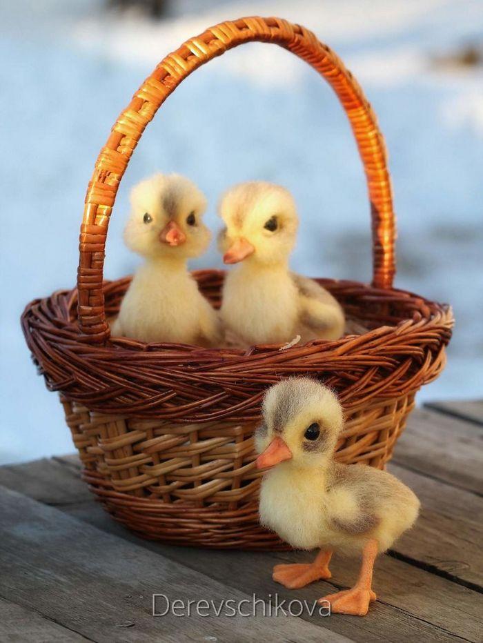 Artista russo criar animais de lã feltrada que são uma fofura (25 fotos) 15