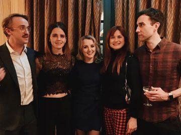 Emma Watson postou uma foto da reunião de Harry Potter, que é um presente de Natal perfeito para os fãs 4