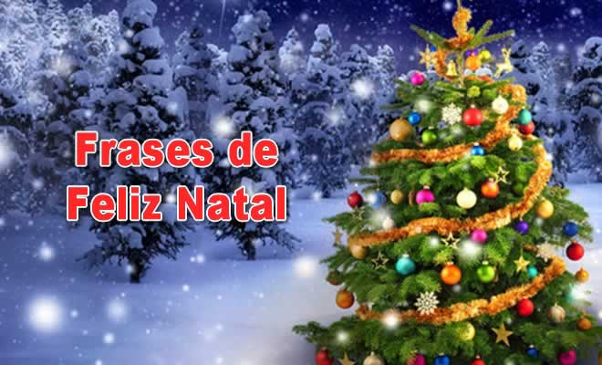 Frases de Feliz Natal