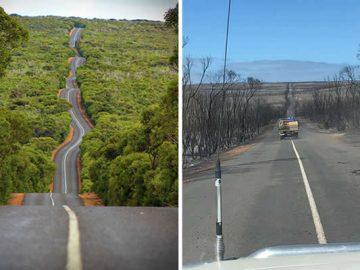 21 Antes e depois, fotos da Austrália mostram quanto dano os incêndios já causaram 6