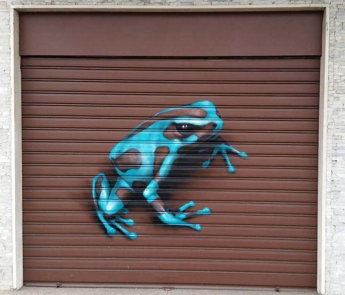 30 fotos de arte de rua em 3D que interagem com seus arredores 6