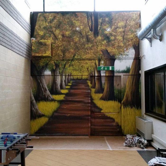 30 fotos de arte de rua em 3D que interagem com seus arredores 7