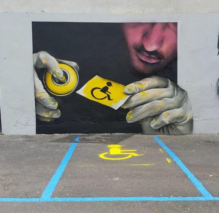 30 fotos de arte de rua em 3D que interagem com seus arredores 16