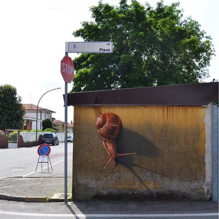30 fotos de arte de rua em 3D que interagem com seus arredores 19