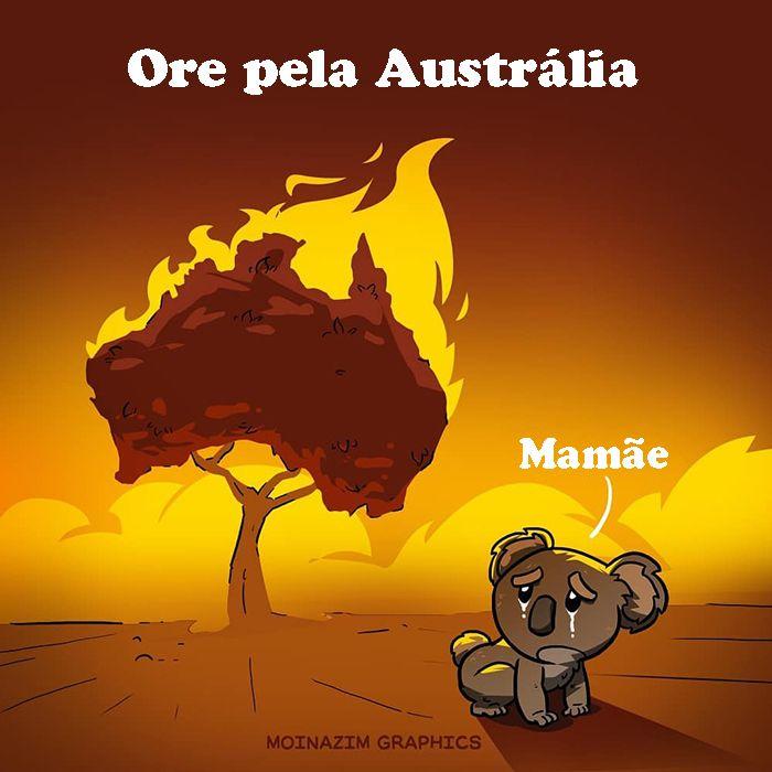 Pessoas de todo o mundo estão compartilhando arte de tributo aos incêndios florestais australianos (30 fotos) 20