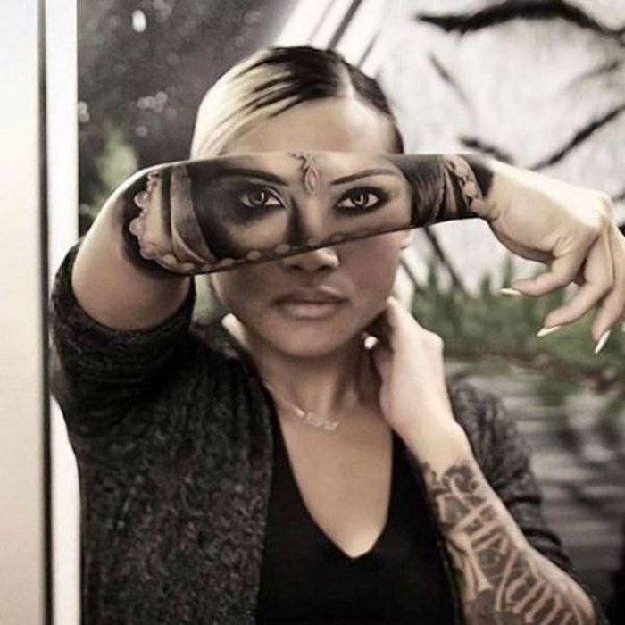37 tatuagens hiper realistas que quase parecem vivas 3