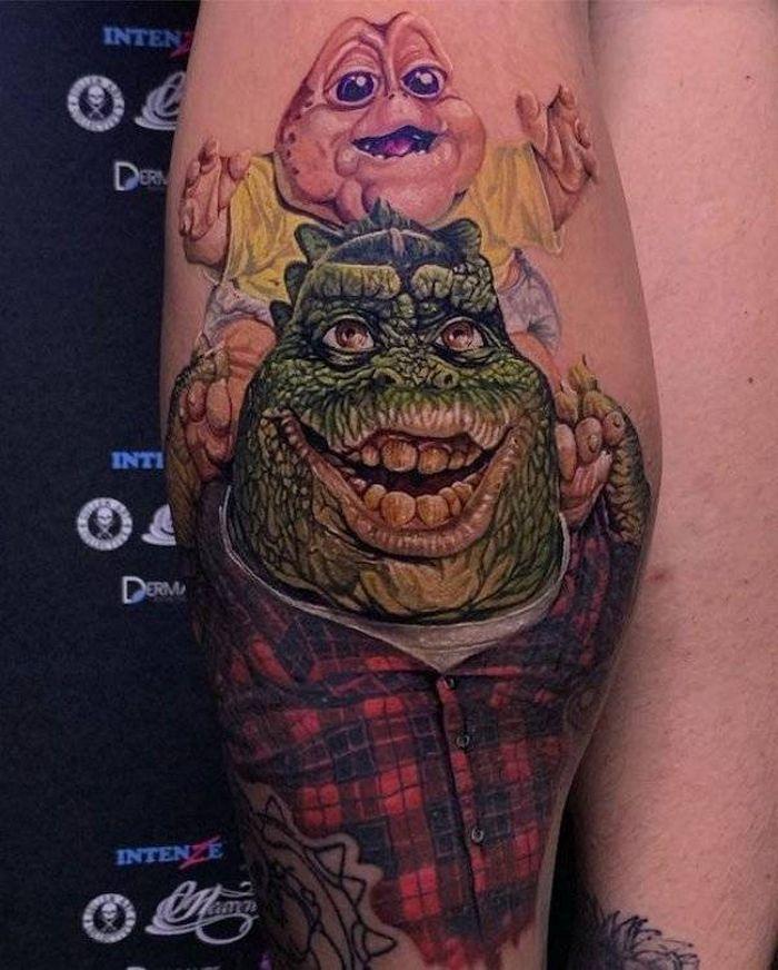 37 tatuagens hiper realistas que quase parecem vivas 29