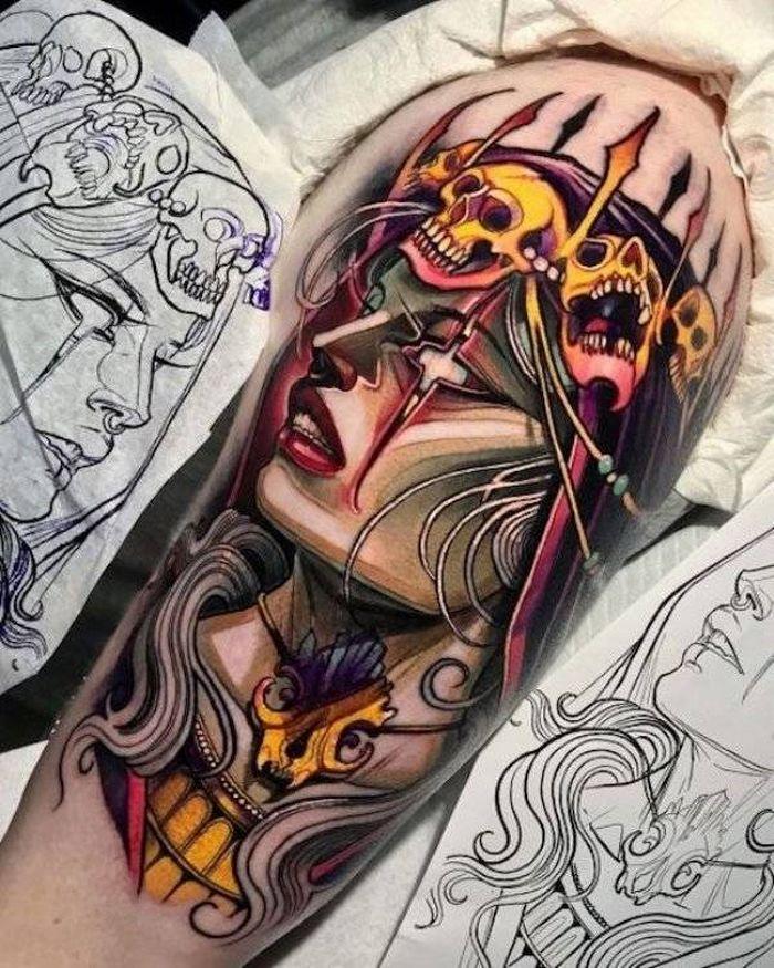 37 tatuagens hiper realistas que quase parecem vivas 37