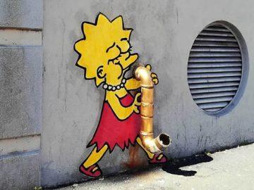 Artista dá vida às ruas simples adicionando personagens divertidos (34 fotos) 29